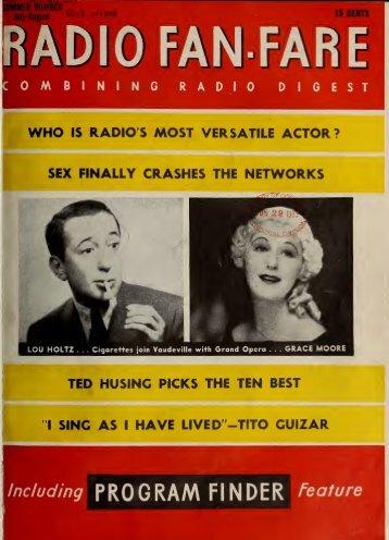 Radio Digest/Radio Fan Fare - Old Time Radio Researchers Group