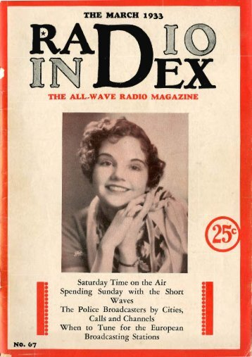 Radio_Index - Mar 1933 - Old Time Radio Researchers Group