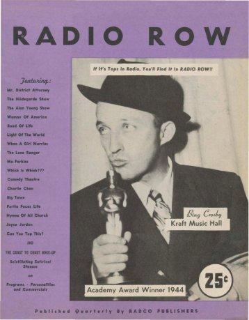 Radio Row 4505.pdf - Old Time Radio Researchers Group