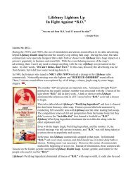 """Lifebuoy Lightens Up In Fight Against """"B.O."""""""