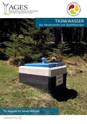 Trinkwasser aus Hausbrunnen und Quellfassungen - AGES