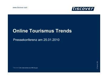 Online Tourismus Trends - Tourismuspresse