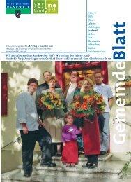 Wir gratulieren dem Rankweiler Hof - Wirtshaus des Jahres 2006 ...