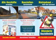 Otterndorfer Baustelleninfo