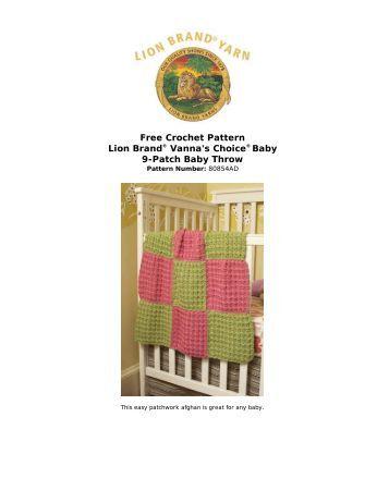 Free Crochet Pattern: Vanna... - Crochet Baby Patterns