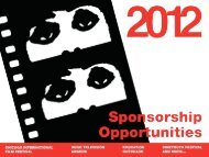 Cinema/Chicago is a year-round, non-profit arts and