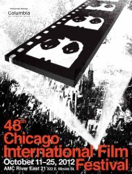 presenting partner - Chicago International Film Festival