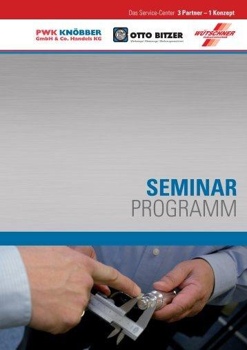 SEMINAR PROGRAMM - Otto Bitzer GmbH