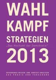Wahlkampf-Strategien 2013 – Das Hochamt der Demokratie