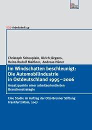 Im Windschatten beschleunigt - Otto Brenner Shop