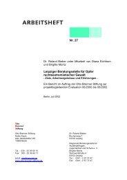 Leipziger Beratungsstelle für Opfer rechtsextremistischer Gewalt