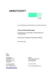 Nr. 25 Krise und Krisenerfahrungen - Otto Brenner Shop