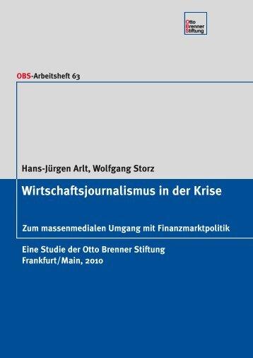 der Studie [PDF – 74KB] - Otto Brenner Stiftung