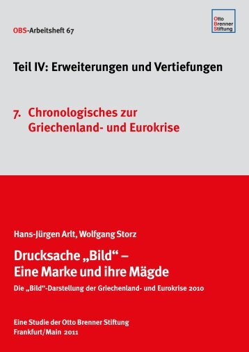Chronologisches zur Griechenland- und Eurokrise - Otto Brenner ...