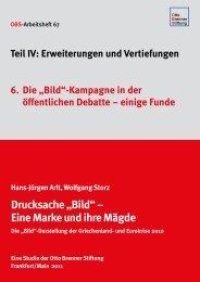 """""""Bild""""-Kampagne in der öffentlichen Debatte – einige Funde"""