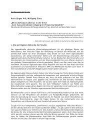 Kurzfassung der Studie - Otto Brenner Stiftung