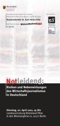 MainzerMedienDisput - Otto Brenner Stiftung