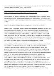Drucksache BILD - Otto Brenner Blog
