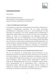 Zusammenfassung der Studie - Otto Brenner Kompakt