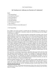 Otto Friedrich Bollnow Die Wandlung in der Auffassung vom ...