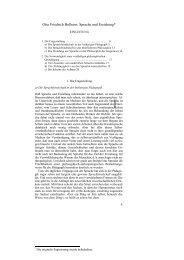Otto Friedrich Bollnow, Sprache und Erziehung*