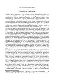 Probleme des erlebten Raums * - Otto Friedrich Bollnow