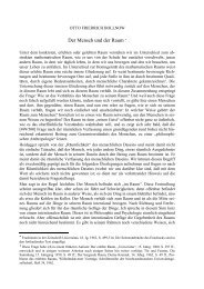 Der Mensch und der Raum * - Otto Friedrich Bollnow