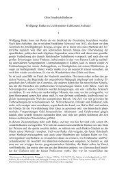 Otto Friedrich Bollnow Wolfgang, Ratke im Licht neuerer Editionen ...