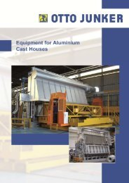 Brochure Equipment for Aluminium Cast Houses 2012 - Otto Junker ...