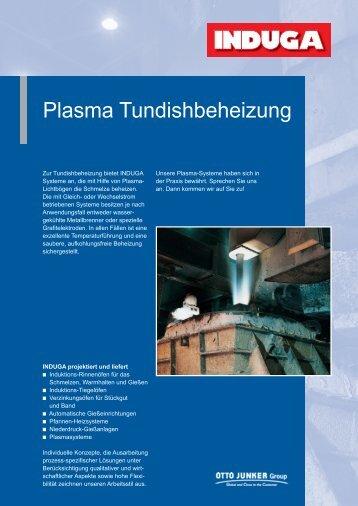 Plasma Tundishbeheizung - Otto Junker GmbH
