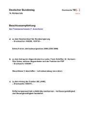 Deutscher Bundestag Beschlussempfehlung - Verlag Dr. Otto Schmidt