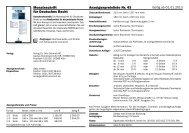 Monatsschrift für Deutsches Recht Anzeigenpreisliste Nr. 43