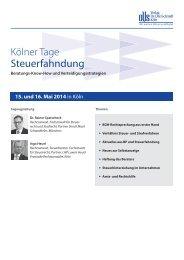 Steuerfahndung - Verlag Dr. Otto Schmidt