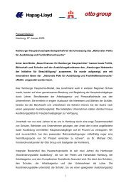 Pressemitteilung Hamburg, 27. Januar 2005 Hamburger ...