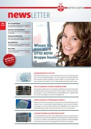 newsLETTER - OTTO ROTH GmbH & Co KG