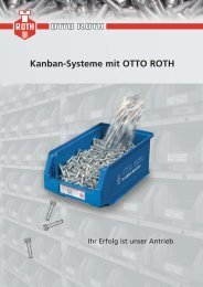 Kanban-Systeme mit OTTO ROTH - OTTO ROTH GmbH & Co KG