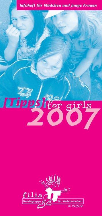 Tipps for Girls - Femina Vita