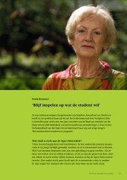 'Blijf inspelen op wat de student wil' - Open Universiteit Nederland