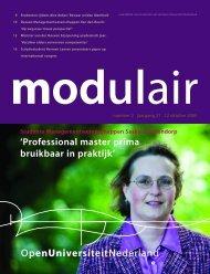 Modulair 2 - Open Universiteit Nederland