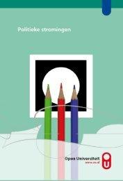 cursus Politieke stromingen - Open Universiteit Nederland