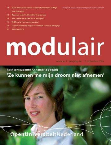 5708369 Modulair 1.qxd - Open Universiteit Nederland