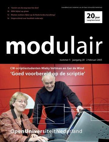 5005002 MODULAIR 5 - Open Universiteit Nederland