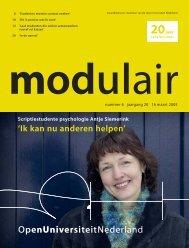 5005069 MODULAIR 6 - Open Universiteit Nederland