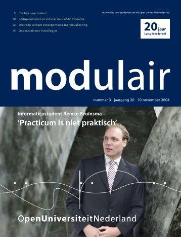 5004224 MODULAIR 3 - Open Universiteit Nederland