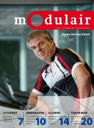 Modulair 1 (jaargang 26, 10 september 2010) - Open Universiteit ...