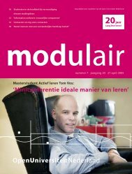 5005069 MODULAIR 7 - Open Universiteit Nederland