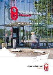 Jaarverslag 2012 - Open Universiteit Nederland