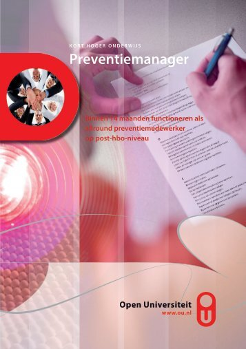 Preventiemanager - Open Universiteit Nederland