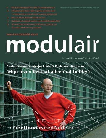 MODULAIR 9.qxd - Open Universiteit Nederland