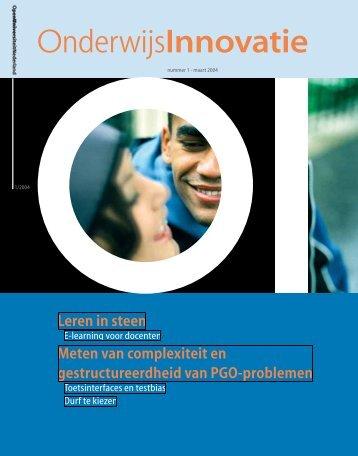 E-learning voor docenten - Open Universiteit Nederland